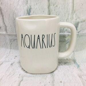 Rae Dunn Aquarius Zodiac Abstract Mug